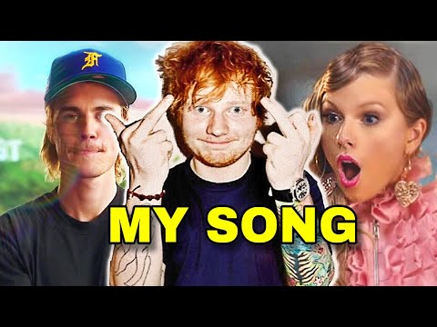 Songs You Wont Believe Were Written By Ed Sheeran Justin Bieber Taylor Swift One Direction
