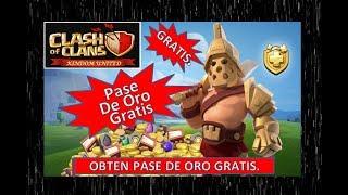Pase de oro Gratis Clash of clans -2019- Obten el pase de Oro en clash of clans.