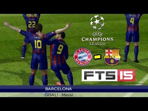 First Touch Soccer 2015 OynuyoruZ #15 | Bayern München - Barcelona