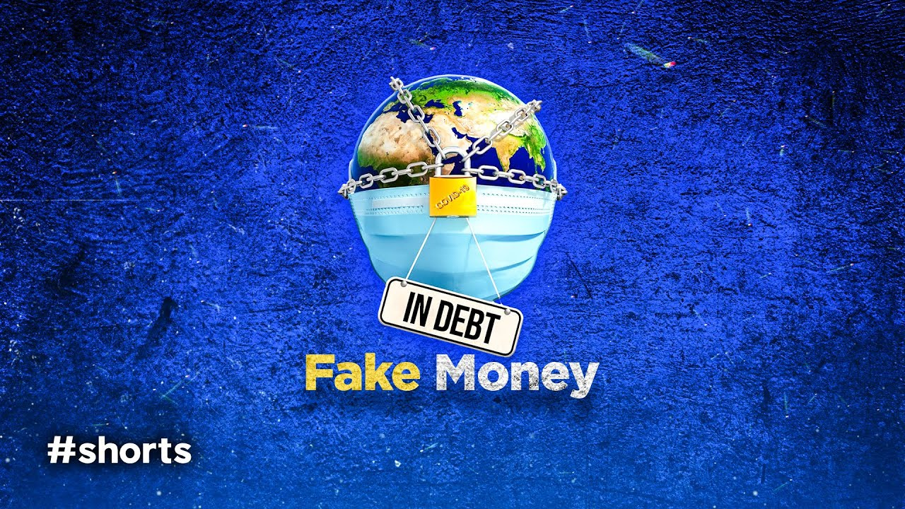 90% of the World's Money Supply is Fake #shorts