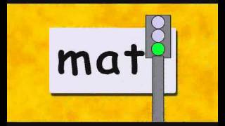 Reading. Educational Video For Children.  Three Letter words Part 3
