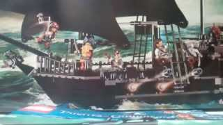 LEGO 4184 review: Pirates of the Caribbean Black Pearl