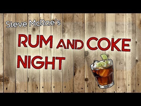 Rum and Coke night: Staring into the abyss.