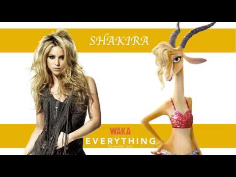 Waka Everything (This Time for Zootopia) - Shakira² Mashup