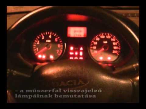 Opel zafira műszerfal hibajelzések
