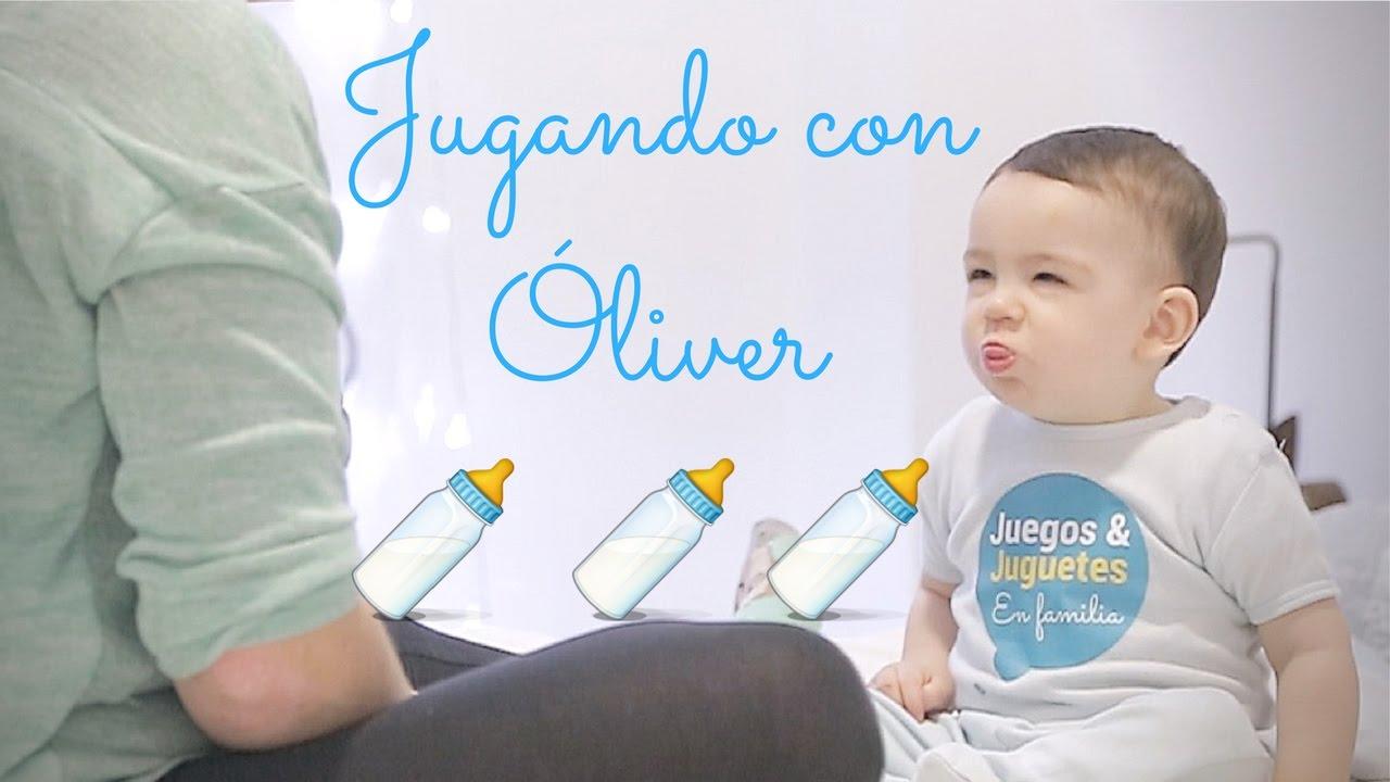Jugando Con Bebe Oliver Juega Con Mama Juegos Y Juguetes En
