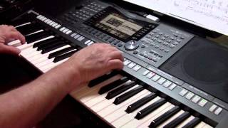 Theme From Love Story (Where Do I Begin) - Yamaha PSR-S970