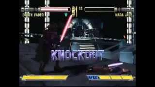 PSX Star Wars Masters Of Teras Kasi   Gameplay + All Endings