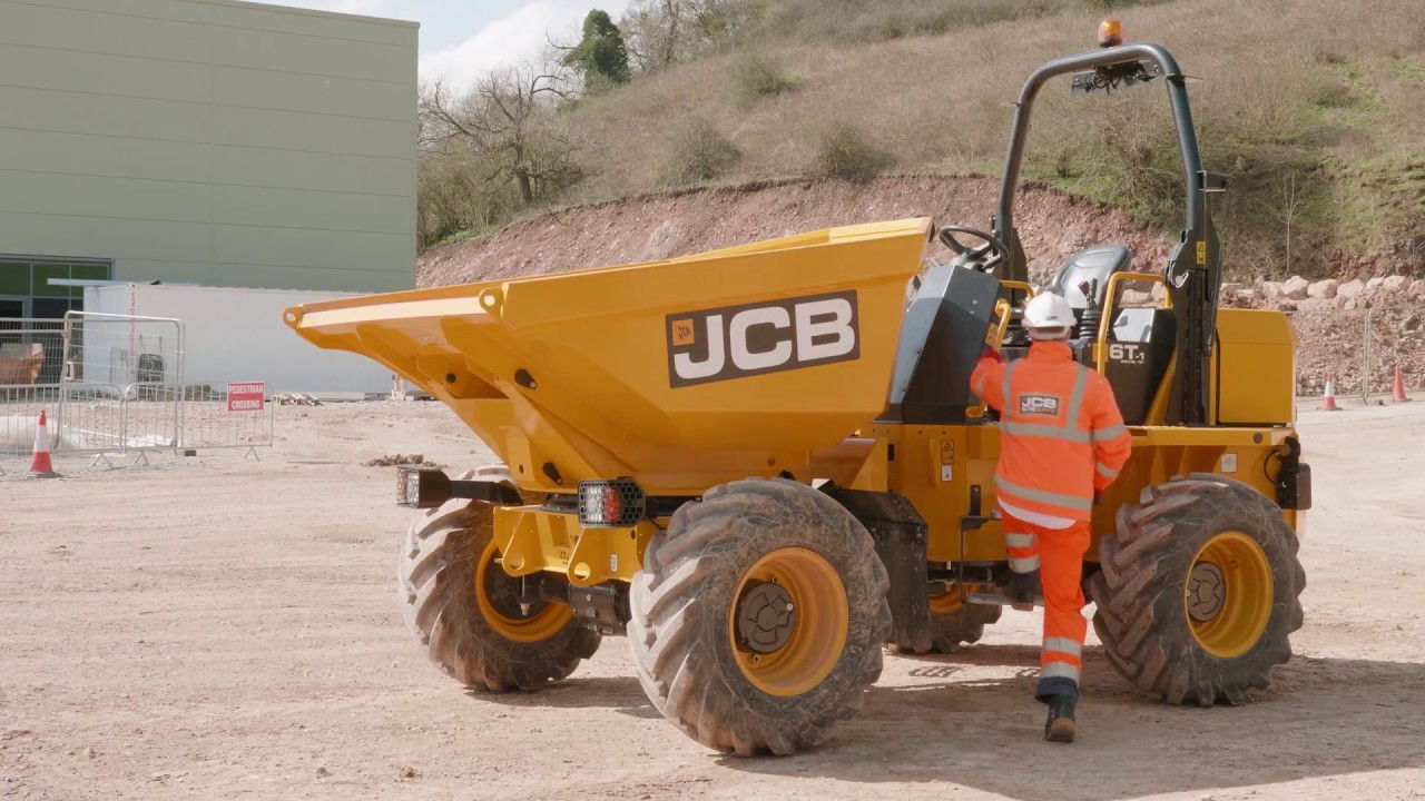 JCB Site Dumpers - Drive Inhibit System (6, 7 & 9T-1)