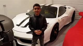 Kid Car Review Ferrari 458 Speciale