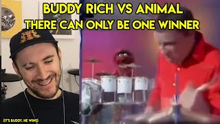 Drum Teacher reacts to Buddy Rich vs Animal from The Muppets