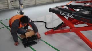Stratus Portable Mid Rise Scissor Lift SAE-TS6600 Installation Instruction