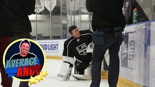 'Average Andy' with the Los Angeles Kings
