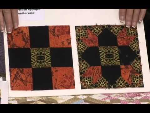 Penny haren s pieced applique intricate blocks qnn youtube
