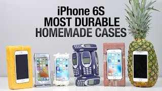 Most Durable iPhone 6S Cases Drop Test - Homemade Edition