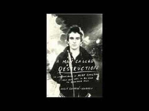 """WUSB Radio interview w Holly George-Warren author of """"A Man Called Destruction"""" about Alex Chilton"""