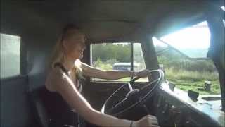 trucking girl jazda krazem na summer cars party kraz driving on scp ep 28