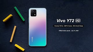 Vivo Y72 5G - Official India Launch - Snapdragon 480 | 64MP Camera - Know Everything