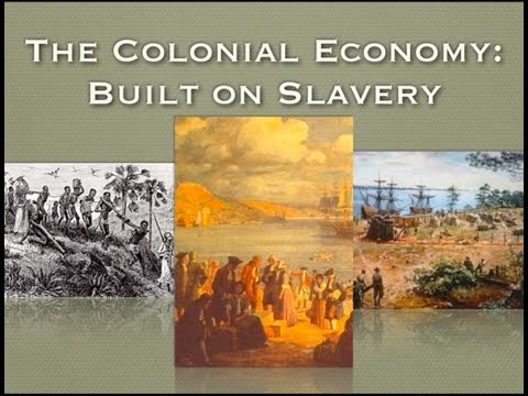 US History Lecture   Southern Colonial Economy and It's Impact