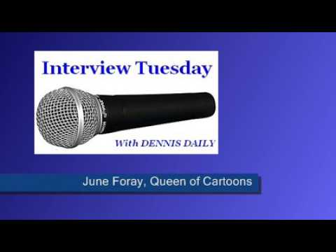 INTERVIEW TUESDAY -- DENNIS meets June Foray