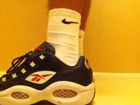 reebok question low on feet