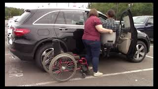 Wheelchair to Car Transfer Lift