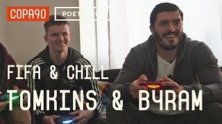 FIFA and Chill with James Tomkins & Sam Byram | Man United vs West Ham | Poet & Vuj Present!