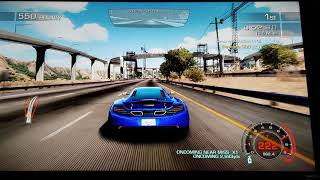 Need For Speed Hot Pursuit:  Ocean Blue - Race (2160p) UHD 4K Gameplay