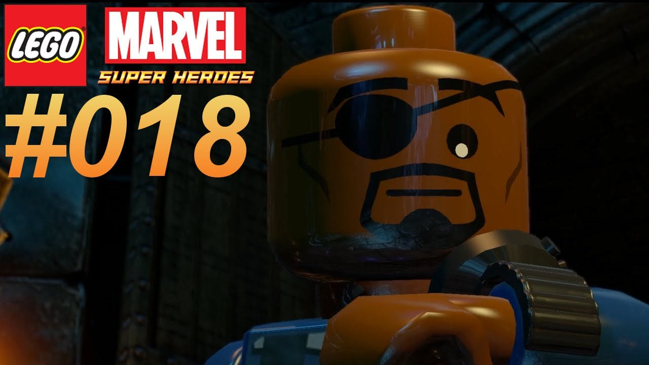 marvel lego nick fury
