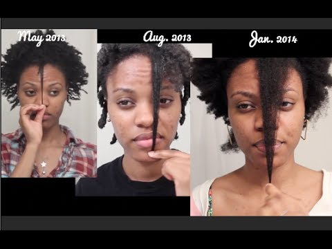 Natural Black Hair Growth Timeline