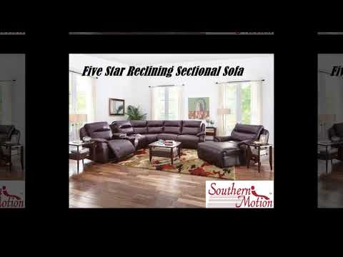 Southern Motion Five Star Reclining Sectional Sofa