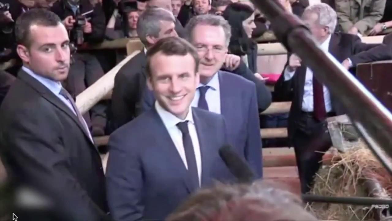 Scoop l 39 homme qui a lanc l 39 oeuf sur e macron au salon for Macron salon agriculture oeuf