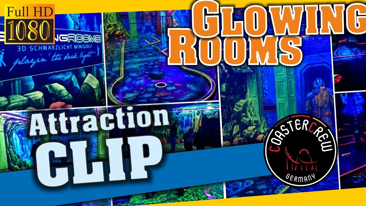 indoor 3d schwarzlicht minigolf glowing rooms dortmund miniature 3d golf courses blacklights. Black Bedroom Furniture Sets. Home Design Ideas