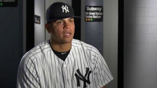 Dellin Betances on Andrew Miller and Aroldis Chapman being named the closer