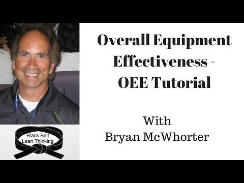 Overall Equipment Effectiveness - OEE Tutorial
