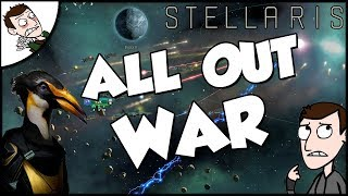 Trying to Defeat Two Empires on Stellaris The Space Penguin Empire