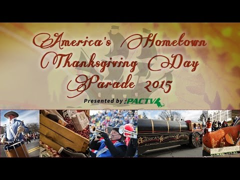 America's Hometown Thanksgiving Parade 2015 in Plymouth, MA - PACTV