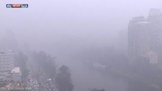 مصر تشهد موجة برد لأول مرة منذ أعوام
