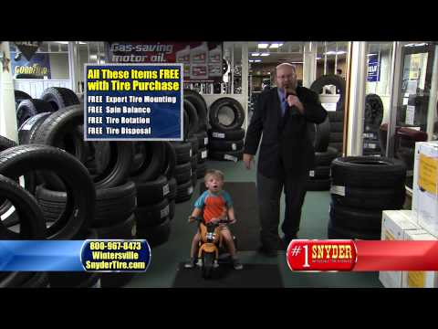 Child (chowd) Safety With #1 Snyder Tires