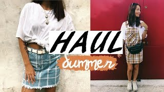 SUMMER HAUL || Boohoo, Bershka, Stradivarius, Aliexpress, Pull and Bear, H&M