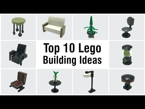 Top 10 Easy Furniture LEGO Building Ideas Anyone Can Make #10