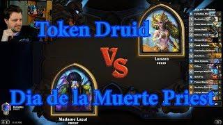 Dia de la Muerte Priest vs Token Druid | Hearthstone