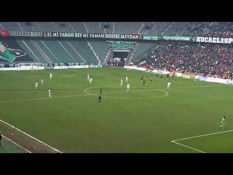 Kocaelispor - Payaşspor 2-0 Dk.90 Gökdeniz Bayrakdar | KOCAELİSPOR