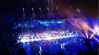 NKOTBSB Concert O2 Arena LONDON 2012 Opening (New Kids on The Block & Back Street Boys))