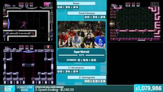 Super Metroid by Various Runners in 44:00 - Summer Games Done Quick 2015 - Part 157