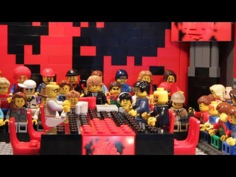 DWDD in Lego in 2 minuten