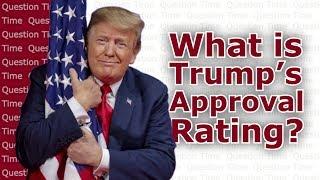 Donald Trump Approval Rating Polls   QT Politics
