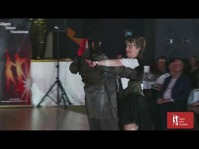 Elizabeth 'Tango' Burke Gafney—Calgary STARS Gala 2017