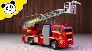 Dickie Toys - Das neue Feuerwehrauto!  - Spielzeug auspacken & spielen - Pandido TV