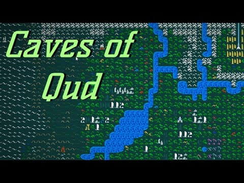 Caves Of Qud World Map.Caves Of Qud 1 Sci Fi Epic Roguelike Youtube